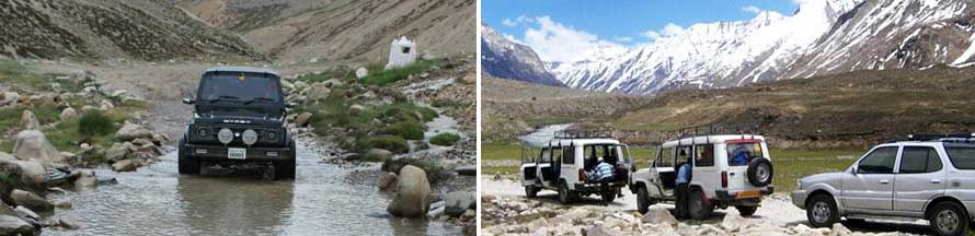 JEEP Safari in Manali