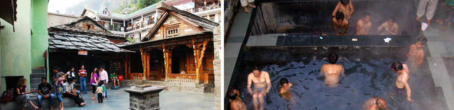 Vashist Hot Water Springs and Temples